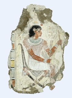Tomb painting of Nebamun 18th Dynasty 1350 BC (Source: The British Museum)