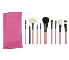 BestFire Makeup Brushes Professional 10 Pcs Handmade Wool Cosmetic Brush Set Foundation Eyeliner Blush Contour Brushes for Powder Cream Concealer Brush Kit Includes Free Case >>> Details can be found by clicking on the image. (Note:Amazon affiliate link)