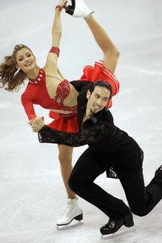 Tanith Belbin and Ben Agosto -Ice Dancing costume inspiration for Sk8 Gr8 Designs