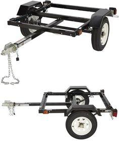 Ironton 40in. x 48in. Utility Trailer Kit — 1060-Lb. Capacity