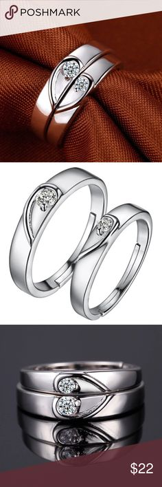 MEN Women Engagement RING SET Wedding SILVER 2016 CZ Diamond Couple Ring Vashiria Fashion Platinum Plated Gold 925 Jewelry Romantic Imperial Crown&Cross Lover Ring J640  Brand Name:VASHIRIAItem  Type:RingsFine or Fashion:FashionSurface  Width:3mm,4mmRings  Type:Cocktail RingStyle:RomanticGender:UnisexSetting  Type:Tension SettingMaterial:Clay Occasion:Anniversary Shape\pattern:CrossModel Number:J640 Metals Type:Platinum Plated  GoldSize:OpenWeght:M:2.35g  W:1.77gWidth:M:4mm  W:3mm…