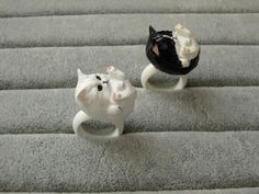 37% OFF on these Beautiful Handmade 3D Cat Rings!