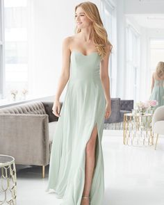 92f9382af3a1 Swooning over style 5902 in sage! Arriving in stores early 2019! 💚   hayleypaigeoccasions