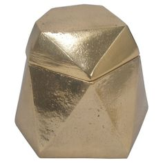 Nate Berkus Gold Gem Decorative Box by Target