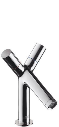 I love it!  http://www.joyfay.com/us/axor-citterio-single-hole-lavatory-bathroom-sink-faucet-brushed-nickel-39010821.html