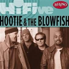 Hootie and the Blowfish~We saw them before Hootie became Darius Rucker.  Loved Hootie and the Blowfish but love Darius Rucker so much more!