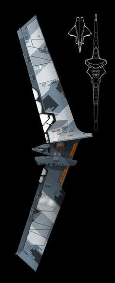 Final and better color layout for the corvette along with some more protective armor plating and top silhouette. Something I had to do considering I am working on a new ship that made the plating a...