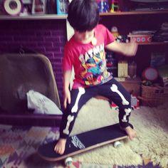 First skateboard