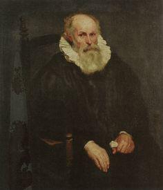 Anthony van Dyck, c. 1618 - - - Portrait of an Elderly Man