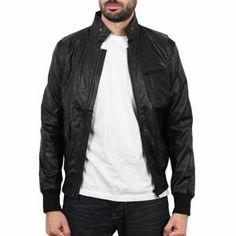 Sixth June - Leather Jacket Noir/Suedine