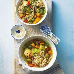 Hühner-Nudel-Suppe