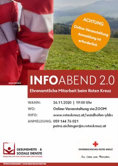 Rotes Kreuz: Ein starkes Team sucht Verstärkung - Online Infoabend 2.0 Travel, Red Cross, Addiction, Crosses, Viajes, Destinations, Traveling, Trips