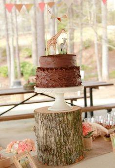 Plain GIRAFFE Cake Topper Figurines Animal by TheFulfilledShop