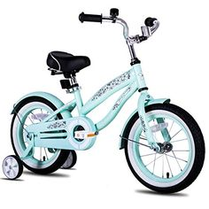 ELEGANT SIMPLE DESIGN - The girly bike is inspired from beach cruiser bike. Note: Child height is the main factor to choose the bike size. Cruiser Bicycle, Mtb Bike, 16 Inch Kids Bike, Best Kids Bike, Bike With Training Wheels, Bike Experience, Pink Bike, Kids Bicycle, Female Cyclist