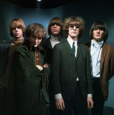 1967 The Byrds, with David Crosby beginning to take himself seriously.