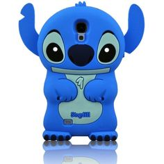 I Need 3D Blue Fixed Ear Flip Silicone Cover Case Stitch Lilo For... ($3.01) ❤ liked on Polyvore featuring accessories, tech accessories, phones, phone cases, iphone, electronics, samsung smartphones, galaxy smartphone and samsung