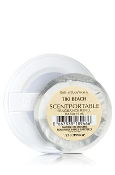Tiki Beach Scentportable Refill - Slatkin & Co. - Bath & Body Works (Love this scent)