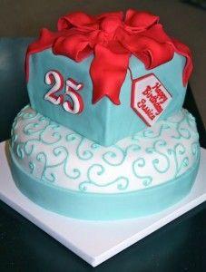 Birthday Cake 25 Years Old