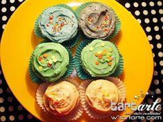 cupcake color www.tartarte.com