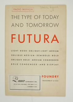 Lubalin's FUTURA
