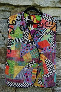 patchwork clothing from solid fabric pinterest - Google Search