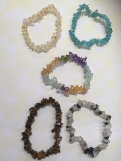 Chip bracelets of every colour are at Aus Crystals.