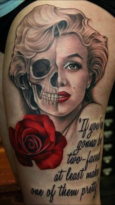 Would love to make this a sugar skull and put it with a couple of my favorite Marilyn Monroe quotes