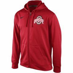 Nike Ohio State Buckeyes KO Pullover Performance Hoodie - Scarlet - XXL - $70