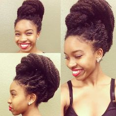 Top 16 Marley Twists Hairstyles - Naturally Me! Media