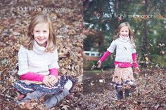 little girl in Matilda Jane outfit