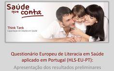 Portugueses com níveis de literacia em saúde problemáticos ou inadequados | Pelo Rim