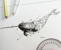 Geometric Beasts | Narwhal