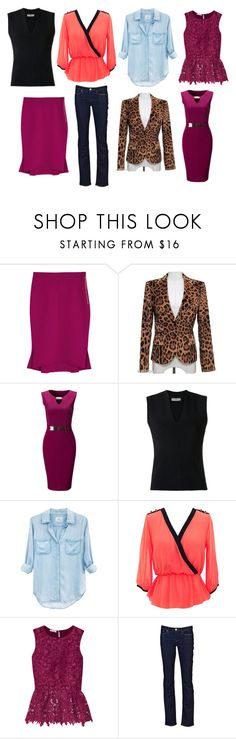 """Closet organization"" by lopezdegull on Polyvore featuring Roland Mouret, Dolce&Gabbana, WithChic, EGREY, Rails, Oscar de la Renta and Levi's"