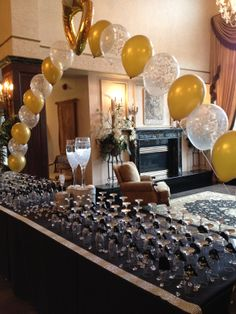The Champagne Bling Display at the Cure MS Foundation of NY's 4th Annual Candlelight Gala at Villa Lombardi's. A great fundraiser idea, guests purchase a glass of champagne, with one glass having the winning number beneath it to win a 5k diamond ring! #charity #fundraiser #champagne