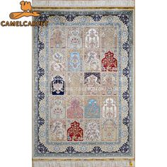 bakhtiar rugs pure silk small size handmade persian rugs on sale
