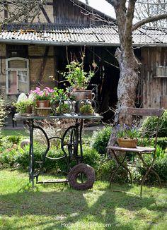 Die 164 Besten Bilder Von Gartendeko In 2019 Garden Art Backyard