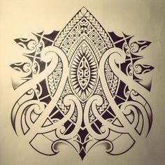 maori tattoo 3 by *dirtfinger on deviantART Polynesian Tribal, Hawaiian Tribal, Hawaiian Tattoo, Mehndi Tattoo, Samoan Tattoo, Tattoo Maori, Tattoo Painting, Maori Tribe, Totem Tattoo