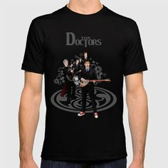 The Doctor who Renunion BAND T-SHIRT  @pointsalestore Society6 #tshirt #tee #clothing #3d #oil #vintage #comic #tardis #doctorwho #doctor #music #guitar #whovian #badwolf #davidtennant #tenthdoctor #timetravel #retro #naked #photography