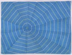Louise Bourgeois, Untitled, 2003  Fabric  28.6 x 37.5 cm / 11 1/4 x 14 3/4 in
