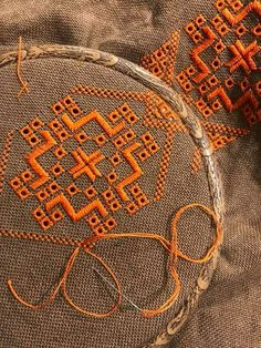 Irmgard Maxwell's media content and analytics Hardanger Embroidery, Hand Embroidery Stitches, Embroidery Art, Cross Stitch Embroidery, Machine Embroidery Designs, Embroidery Patterns, Cross Stitch Patterns, Chicken Scratch Embroidery, Bookmark Craft