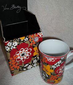 Vera Bradley mug in bittersweet