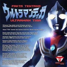 Inilah beberapa fakta menarik tentang Ultraman Tiga.  Yuk, tag temen kamu yang suka Ultraman, siapa tau info ini bisa menjadi tambahan pengetahuan tentang Tokusatsu kegemarannya. . . . . . #ultraman #tiga #tokusatsu #komutoku #tsuburaya #ultramantiga #superhero #japan #indonesia #infographic #info #news