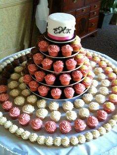 Cupcake Collection! We're just going to have the strawberry and wedding cake flavors, but it will look something like this.