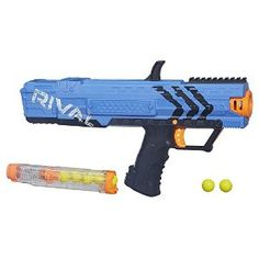 Nerf Rival Apollo Blaster, Blue With Seven High-Impact Rounds
