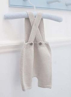 Gorgeous little short overalls for baby boy or girl in 2 sizes 3-6 and 6-9 months