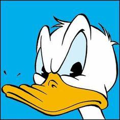 Duck Cartoon, Dope Cartoon Art, Cartoon Faces, Donald Duck Comic, Donald And Daisy Duck, Disney Best Friends, Mickey Mouse And Friends, Disney Duck, Disney Art