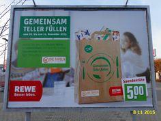 703. - Plakat in Stockach. / 08.11.2015./