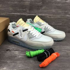 newest 9e33d b5c9a Off-White Nike Air Max90 X White ICE Blue Mens shoes,buy discount  92  WhatsApp 8613328373859