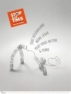 Stop aux TMS. Tout déséquilibre même léger peut vous mettre à terre