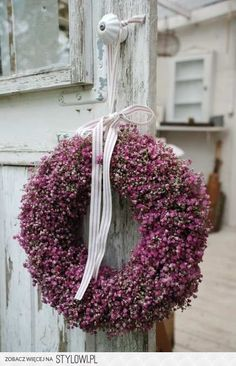 Wreath of heather:)
